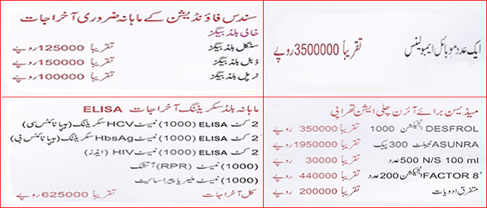 Sundas Expenses